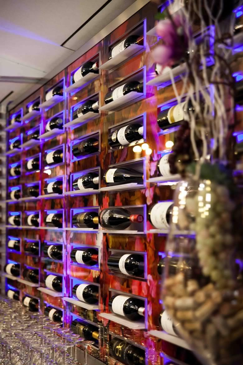 Exposición de vinos